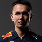 Alex Albon ook in 2020 teamgenoot van Max Verstappen