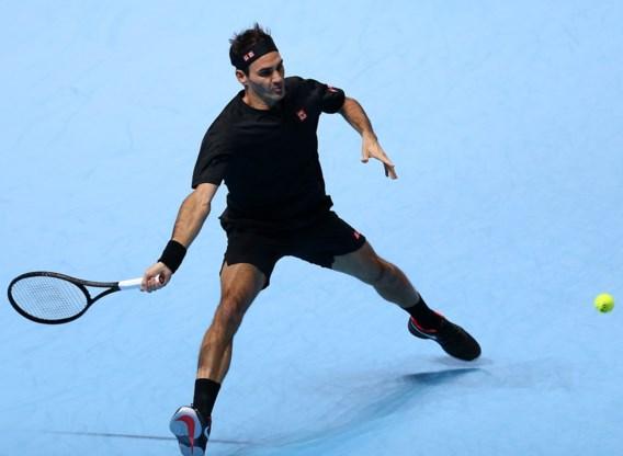 Roger Federer poetst blazoen op met zege tegen Matteo Berrettini op ATP Finals