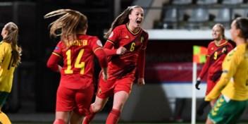 Red Flames winnen makkelijk van Litouwen, Tine De Caigny scoort 5 keer