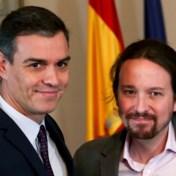 Sánchez bereikt voorakkoord met Podemos voor vorming nieuwe Spaanse regering