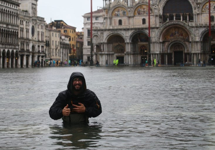 Venetië getroffen door hoogste waterpeil in 53 jaar