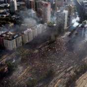 Chileense manifestanten niet te stoppen