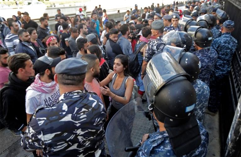 Man doodgeschoten bij protesten in Libanon