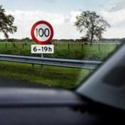 Overdag maar 100 km per uur op snelweg