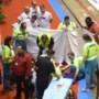 Zesdaagse van Gent stopgezet na zware valpartij