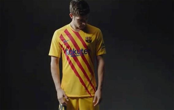 FC Barcelona maakt politiek statement met shirt