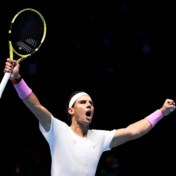 Rafael Nadal pakt zege op ATP Finals, maar kan vanaf nu enkel hopen op halve finale