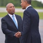Presidentskandidaat met zegen van vriend Obama