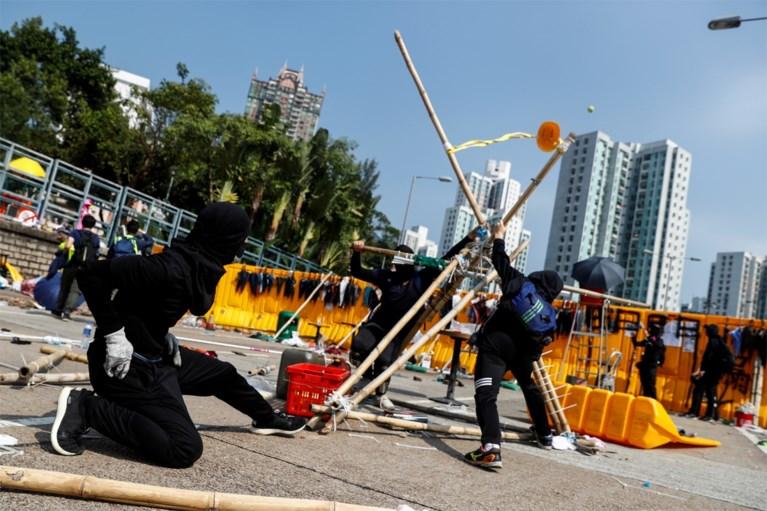 'De wapenfabrieken' van de Hongkongse demonstranten