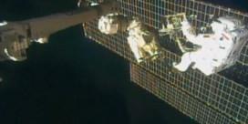 Astronauten doen 'moeilijkste ruimtewandeling ooit' aan ISS