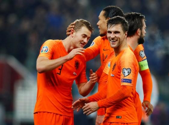 Nederland plaatst zich voor het eerst in zes jaar voor groot toernooi