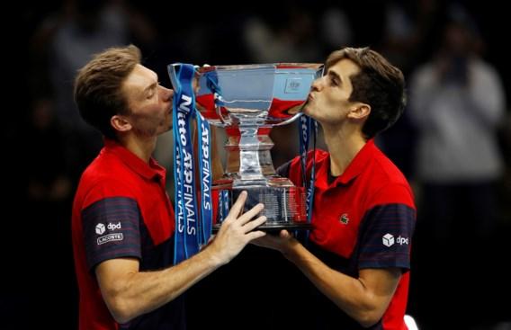 Fransen Herbert en Mahut vervolledigen palmares met dubbelzege op ATP Finals