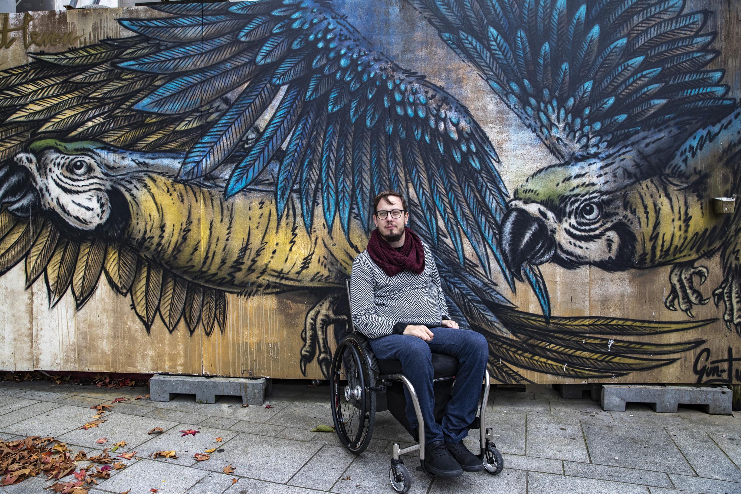 Ondernemen: op zoek naar de perfecte broek voor rolstoelgebruikers - De Standaard