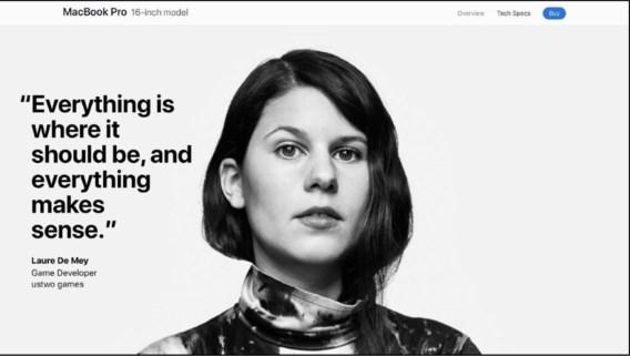 Vlaamse Laure is het gezicht van nieuwe wereldwijde Apple-campagne: 'De grote shock kwam achteraf'