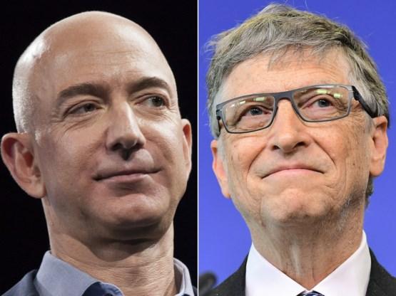 Gates neemt titel van rijkste man ter wereld weer over van Bezos