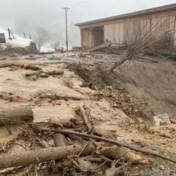 Winterprik verrast Alpen met lawines en modderstromen tot gevolg