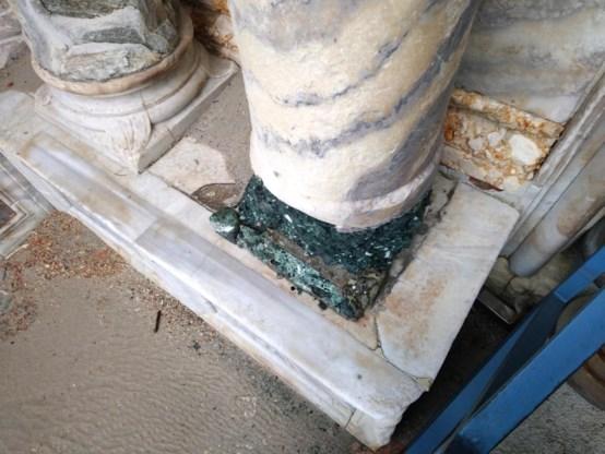 Basiliek van San Marco in Venetië beschadigd na overstromingen