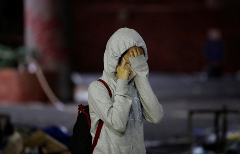 Honderden Hongkongse studenten opgepakt