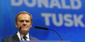Donald Tusk verkozen tot voorzitter Europese Volkspartij