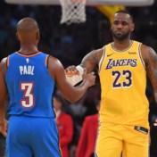 LeBron James loodst Lakers met historische statistieken naar winst