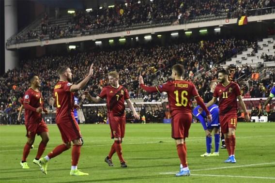 Rode Duivels sluiten EK-voorronde ongeslagen af na winst tegen Cyprus