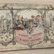 Dit kerstkaartje zette 176 jaar geleden de kerstgekte in gang