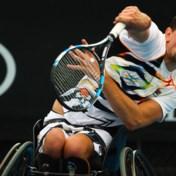Joachim Gérard begint dubbeltoernooi op Masters rolstoeltennis met een zege