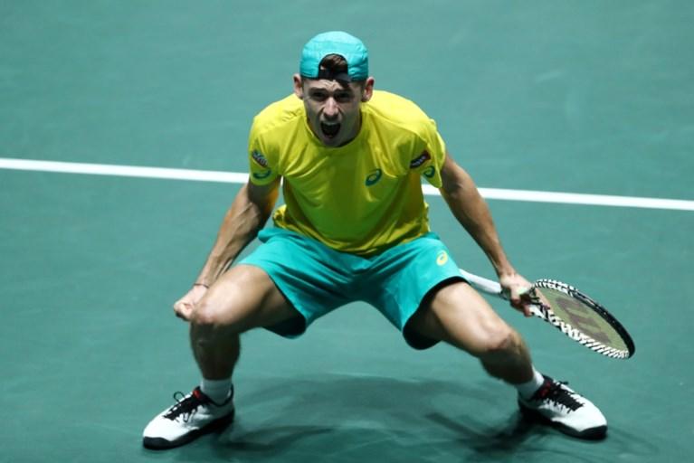 België uitgeschakeld in de groepsfase van de Davis Cup (ondanks opgave Australië in dubbelspel)