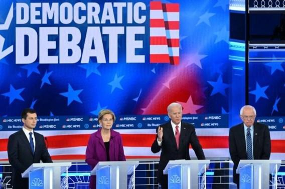 Democratische presidentskandidaten blijven het oneens over rijkentaks