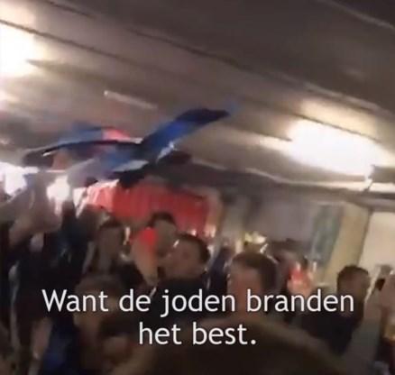Fans van Club Brugge worden niet vervolgd voor antisemitische gezangen, Joodse gemeenschap reageert ontgoocheld