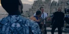 Stromae duikt op met Coldplay in Jordanië