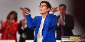 CDU schaart zich (voorlopig) achter partijvoorzitter Kramp-Karrenbauer