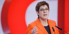 CDU-voorzitster AKK zit weer wat steviger op haar stoel