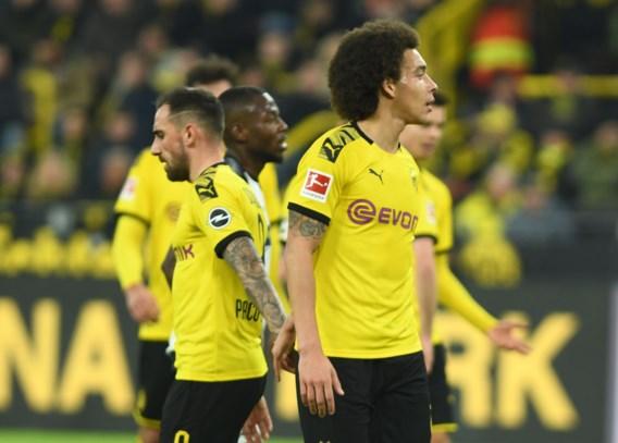 Borussia Dortmund vermijdt blamage tegen rode lantaarn met straffe comeback: Axel Witsel scoort