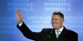Klaus Iohannis blijft president van Roemenië