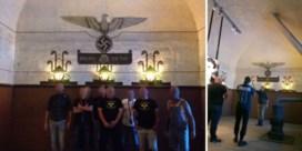 Nazi's op bedevaart in Breendonk