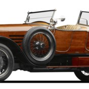 De auto,een museumstuk