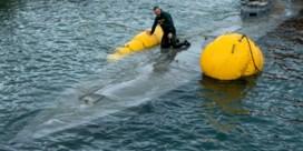 Narco-onderzeeër duikt op voor de kust van Spanje