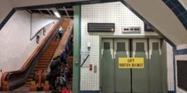 Geen enkele aannemer wil liften voetgangerstunnel renoveren