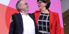 Nieuwe voorzitters SPD zijn lastige klant voor Merkels CDU