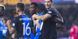 Club Brugge dankt Hans Vanaken, die enige doelpunt scoort tegen Moeskroen maar ook penalty mist