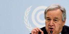 VN-secretaris-generaal Guterres: 'Stop de oorlog tegen de natuur'