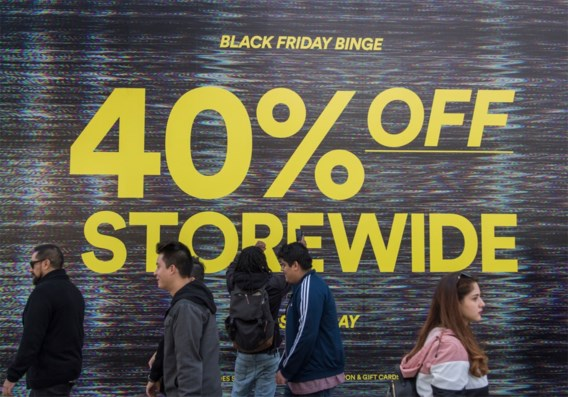 Recordaantal betaaltransacties op Black Friday