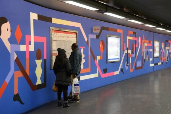 Gezocht: streetartkunstenaar om Brussels metrostation op te fleuren