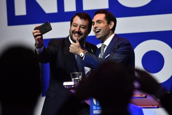 Matteo Salvini komt, kijkt en overwint (in tien minuten)