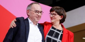 Nieuwe voorzitters SPD doen Duitse regering wankelen