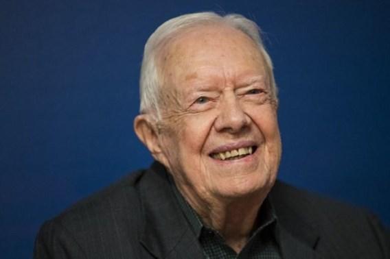 Ex-president Jimmy Carter opnieuw in het ziekenhuis