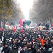 Rellen in Parijs bij betogingen tegen pensioenhervorming