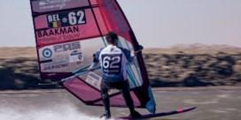 Mechelaar Vincent Valkenaers is snelste man ooit op een windsurfplank