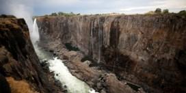 Wereldberoemde Victoriawatervallen 'dreigen te verdwijnen'